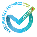 Certified Aruba Health & Happiness Code